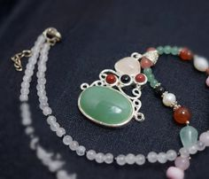 Green Aventurine Necklace Bridal Necklace Gif For Mom