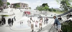 Henning Larsen Wins Competition for Future Vinge Train Station in Denmark,© Henning Larsen Architects