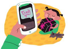 Thank-you notes: when and how to send them