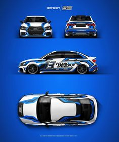 """Mi piace"": 212, commenti: 8 - FUSE™ / Wraphic Design Studio (@fusedesignstudio) su Instagram: "" AUDI S3 ""HOW DEEP? 2k18 Livery"" design project. @howdeep.de Owner: @s3_pascal Wrap by:…"""