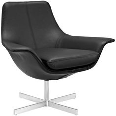 Presence Leather Lounge Chair