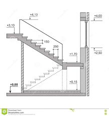 Buy Draft Project Stairs on White Background by In-Finity on GraphicRiver. Draft Project Stairs on White Background. House Layout Plans, My House Plans, House Layouts, House Floor Plans, Home Stairs Design, Interior Stairs, Home Design Plans, House Design, Escalier Art