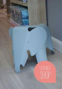 Elephant Chair von Vitra, gesehen bei Sprösslinge Design in Hamburg