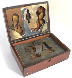 assemblage art by mike bennion - '24/7'