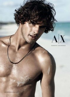 MARLON TEIXEIRA POSES FOR ARMANI EXCHANGE'S SPRING/SUMMER 2013 JEWELRY CAMPAIGN