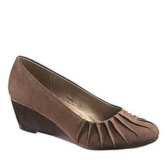 Soft Style by Hush Puppies Women's Gaby Wedge Pumps :: Casual Shoes :: Shop now with FootSmart