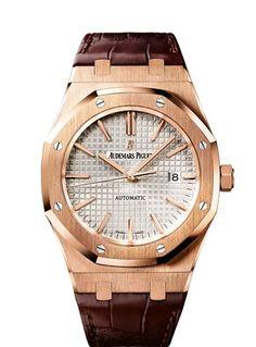 Audemars Piguet Royal Oak Automatic Rose Gold Mens Watch