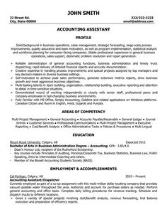 31 Best Best Accounting Resume Templates Amp Samples Images