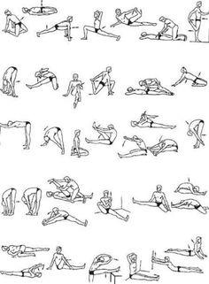 Упражнения для шпагата