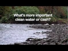 Why?  Re Drilling, Fracking, Water withdrawals, etc.  They really more important that water?