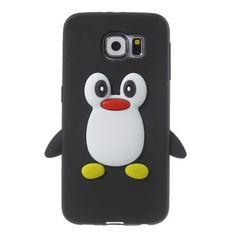 Coque Samsung Galaxy S6 Pingouin Coque Samsung Galaxy S6, Cute Cases, Phone Covers, S7 Edge, Bun Hair Piece, Slipcovers, Mobile Covers, Phone Case