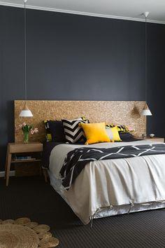 OSB plaat | interieur inspiratie | LivinLot #bedroom #slaapkamer