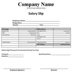 """Are you looking for """"Salary Slip Format in Excel""""? This post will help to solve issues of financial planning regarding maintaining employee's salary slip. File Income Tax, Federal Income Tax, Income Tax Return, Payroll Template, Invoice Template, Bill Template, Invoice Format In Excel, Microsoft Excel, Planning Excel"""