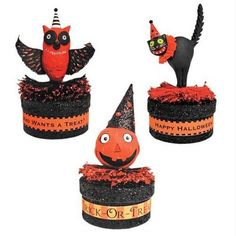 Glitterville Halloween Favor Box