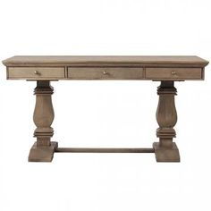 Aldridge Desk - Rustic Desk - Farmhouse Desk - Writing Desks - Home Computer Desk | HomeDecorators.com