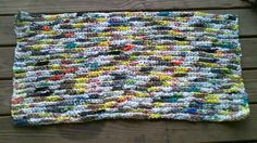 Colorful Plastic Bags Door Mat Do-It-Yourself Ideas Recycled Plastic