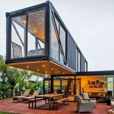 Container House - Casas construidas con contenedores marítimos Who Else Wants Simple Step-By-Step Plans To Design And Build A Container Home From Scratch? Tiny House Design, Modern House Design, Container Architecture, Architecture Design, Sustainable Architecture, Residential Architecture, Contemporary Architecture, Container Habitable, Shipping Container Home Designs