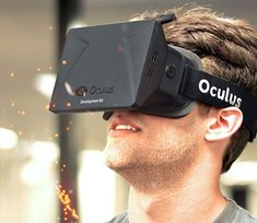 Oculus Rift - Virtual Reality Headset for Immersive 3D Gaming   Oculus VR   Oculus Rift - Virtual Reality Headset for 3D Gaming