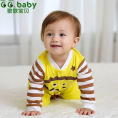 Find More Rompers Information about 2015 Stripe Romper Baby Spring Brand Boy Clothing Newborn Funny Baby Boy Girls Rompers Clothes Infant Cotton Baby Care Jumpsuit,High Quality jumpsuit shorts,China clothes tree Suppliers, Cheap jumpsuit women from GG. Baby Flagship Store on Aliexpress.com