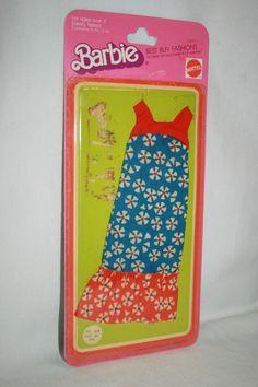 Vintage Barbie Best Buy Fashions #2219 Factory Card