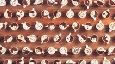 Coffee Brand Uses 1000 Cups of Latte Art to Tell Beautiful Stop-Motion Story