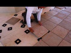 Tile Roof Deck Install - DekTek's Concrete Deck Tiles Installed On Roof Membrane Using Pedestal Pads - YouTube