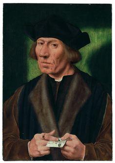 Quentin Massys, Bildnis eines einundfünfzigjährigen Mannes, (1509-12, Sammlung Oskar Reinhart Am Römerholz, Winterthur)