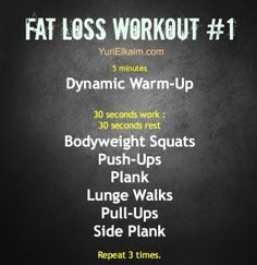 Wednesday's Fat Loss Workout | Yuri Elkaim | Live Your Healthiest and Fittest Life
