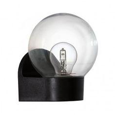 Eglo 75182 - Vonkajšie nástenné svietidlo LORMES 1xE27/25W/230V