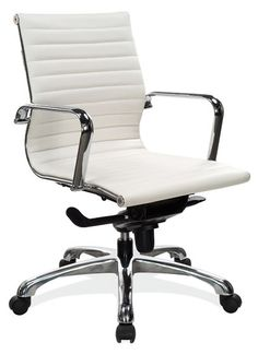 Contemporary Executive Chair, Nova Series, from OfficeSource