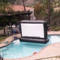Big Backyard Movie Screen By Atlantis Inflatables   Inflatable Movie Screen    Pinterest