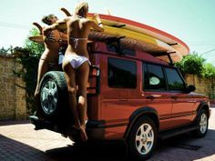 Land Rover Discovery - Time to go to beach!!!