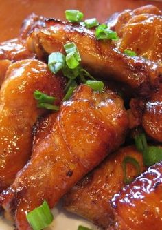 Teriyaki Chicken Wings - These wings are a hit at every party. I made 10 pounds of these wings for a recent get-together, and not one wing was left at the end of the night. Delicious!