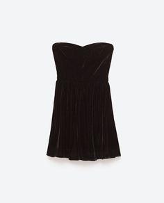 Image 6 of VELVET MINI DRESS from Zara Velvet Ribbon, New Years Eve, Velvet c265f1cbf9
