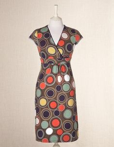 Jersey dress @ Boden...Rosemary Mosaic.