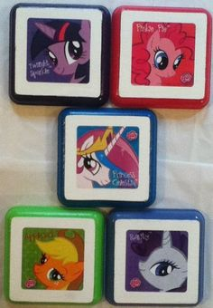 My Little Pony Wall Decor Plaques Bedding By Pnswallplaques 24 99