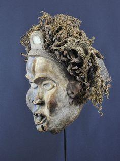 Masque à clous Bakongo Nkisi Nkondi nail Mask Art tribal Fetiche Fetish   eBay