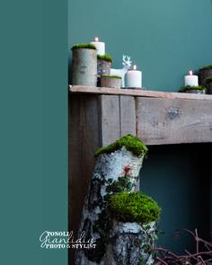Giato Salò #natalealverde Home Staging, Floating Shelves, Stylists, Interior, Home Decor, Party, Green, Decoration Home, Indoor