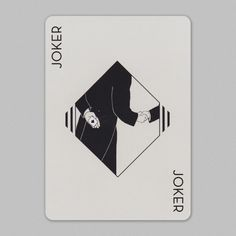 #Joker featured in Hollingworth #playingcards.