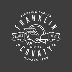 #vector #design #illustration #younglife #franco #franklincounty #eagles #new #typography #type by goodlanddesign