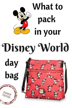 Here's everything you need to pack when you hit the Disney parks with your family!