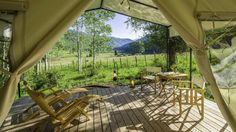 Mountain Tents, Colorado Mountain Glamping, Rates - Dunton River Camp