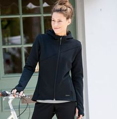 Women's Cycling Hoodie | Terry Urban Hoodie | Terry Bicycles