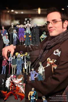 J Michael Tatum...This guy does some amazing charactor voices.... but my favorite is Sebastian!!