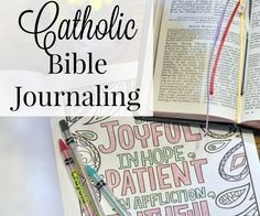 Are you frustrated because there isn't a Bible specifically for Catholic Bible journaling? I have the solution for you in this post full of tips.