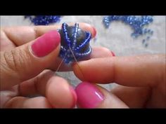 In this video I show you how to embelish a marble with a very easy technique using only seed beads a Beaded Jewelry Patterns, Beading Patterns, Loom Beading, Jewelry Making Tutorials, Beading Tutorials, Diy Jewelry Instructions, Beaded Ornaments, Maker, Beaded Flowers