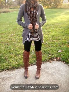 38 Stylish Fall Outfits with Boots and Tights --outfit inspiration using pieces I already have enjoy my collection of hot girls in tight clothes,spandex,lycra,tight shorts...