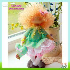 Купить Принцесса София - подарок девочке, принцесса, София, кукла ручной работы, кукла интерьерная