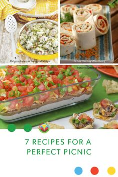7 Recipes for a perfect picnic! Pack up these delicious picnic recipes and head out for a relaxing day. Barley Recipes, Bison Recipes, Oats Recipes, No Dairy Recipes, Mushroom Recipes, Fruit Recipes, Egg Recipes, Pork Recipes, Chicken Recipes