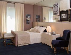 Aconchegante, clean e funcional foram os conceitos utilizados por Paula Magnani para criar um quarto pde uma jovem solteira, para a Mostra Q&E Quartos.